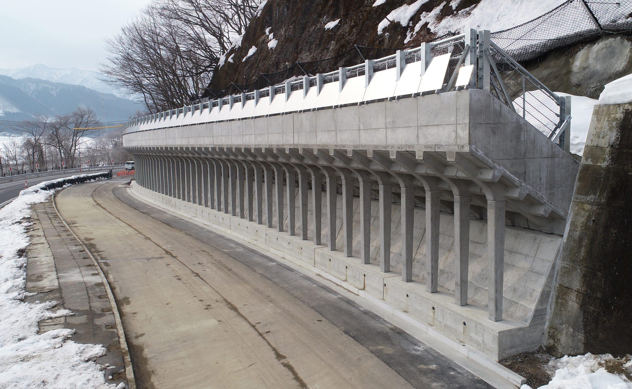 生保内地区構造物修繕工事完成3
